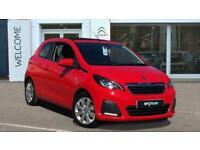 2015 Peugeot 108 1.0 Active Top! 3dr Convertible Petrol Manual