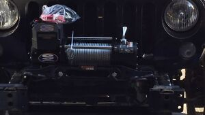 Jeep winch mount and bumper Cambridge Kitchener Area image 2