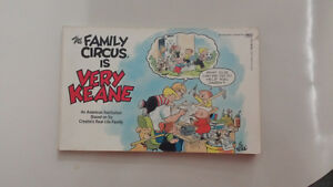 Family Circus is Very Keane paperback Rare