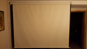 8 foot Projection Screen
