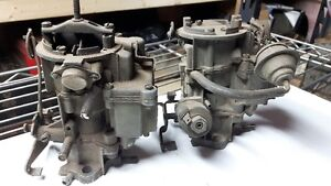 2 GMC Chevy Carb's