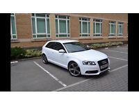 Audi A3 Sline White