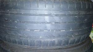 set of 4 yokohama low profile tires