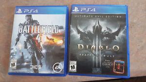 Diablo 3 reaper of souls ultimate evil edition + battlefield 4