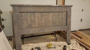 Rustic Headboard, King Size Headboard, Wood Headboard, Bedroom
