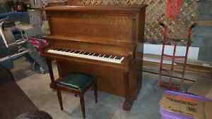 ENNIS UPRIGHT PIANO