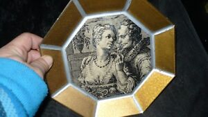"""VINTAGE 2 GORGEOUS VICTORIAN """"ATTRIBUT"""" WALL PLAQUES Kitchener / Waterloo Kitchener Area image 5"""