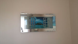 Faux Window/Mirror wall hanging