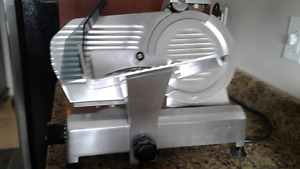 "Commercial Oman 9"" slicer, made in Italy."