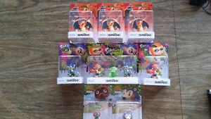 Various Nintendo Amiibo