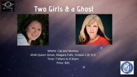 Two Girls & a Ghost - a night of platform mediumship
