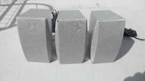 3 small speakers 70 watts for $10