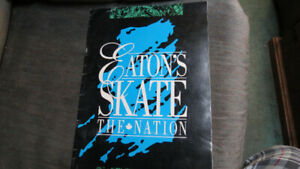 Eaton's Skate The Nation book with signatures