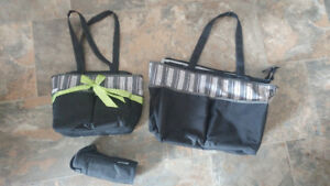 3 piece diaper bag set