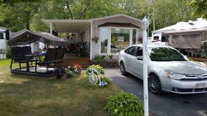 Maison mobile - Camping Domaine de Rouville