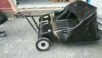 "LIKE NEW 42"" LAWN SWEEPER IN EXCELLENT CONDITION"