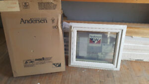 Brand New Casement Windows - 24in x 20.5in and 24in x 17in