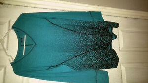 Women's XL long sleeve blouse