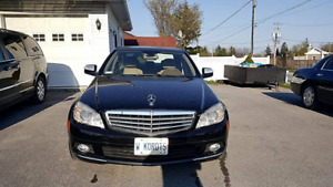 2008 Mercedes C300, low kms, immaculate
