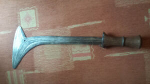 Vintage Central African Bumali sword
