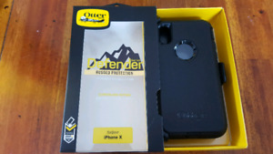 New Black iPhone 5 5s SE  6 6s 7 8 X Otterbox Defender Case