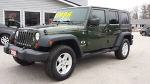 2007 Jeep Wrangler X Both Tops Very Clean!!!
