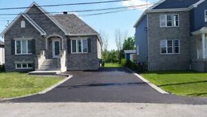 pavage et terrassement ( pavé uni et asphalte)