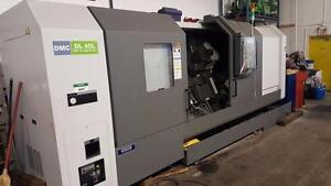 New DMC DL45L CNC lathe Made in Korea below cost