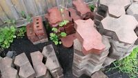 Various patio stones for free