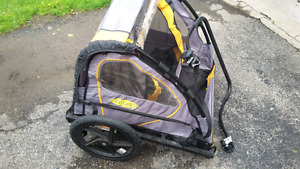 BIKE TRAILER STROLLER EXCELLENT CONDITION