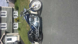 2007 vtx motocycle