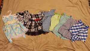 Lot of baby girl clothes ages 0-6 months #1