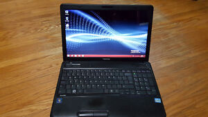 Toshiba Satellite i3 windows 7 laptop