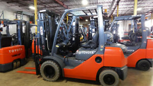 Outdoor/Indoor Fork Truck Toyota