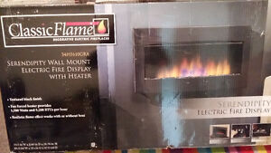 BRAND NEW Classic Flame Fireplace electric