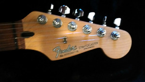 Fender strat for pedals, tele, or electric acoustic