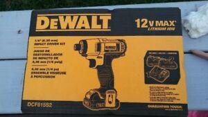 DeWalt Impact Drill Kit $150