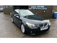 2006 55 BMW 530 3.0d TD M-SPORT AUTO SALOON,FULL BEIGH LEATHER INTERIOR,FSH.
