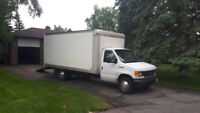Driver/Mover with 16ft Cube Van.
