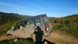 97 Geo tracker mud truck, will part out