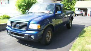 2008 FORD RANGER TWO WHEEL DRIVE