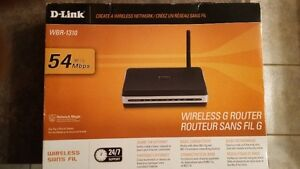 D-LINK WBR -1310 WIRELESS G ROUTER