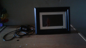 Picture frame & digital picture frame