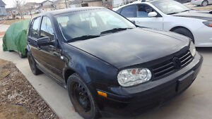 FOR SALE: 2003 VW GOLF (Safety-able) $3700