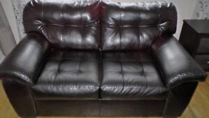 Causeuse et sofa à 310$