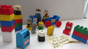 DUPLO Lego & Action figures...REDUCED!