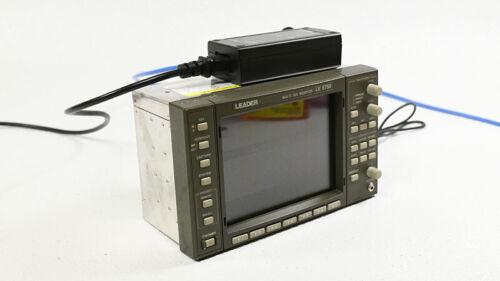 Leader LV5750 Multi SDI Waveform Monitor Waveform Vectorscope w/ memory card