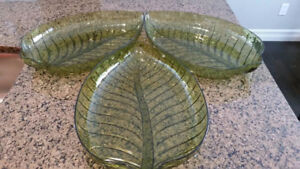 Serving trays, large, great for catering - 3 in total, like new