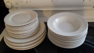 White dishes from sears Peterborough Peterborough Area image 1