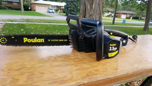"""16"""" Poulan PLN3516F 3.5hp Electric Chainsaw"""